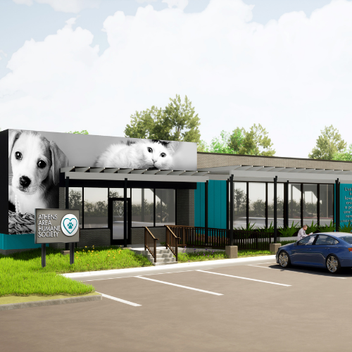 A look at the Athens Area Humane Society's new, expanded Mitchell Bridge Road facility